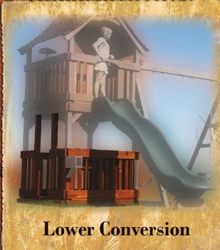 Lower Level Conversion
