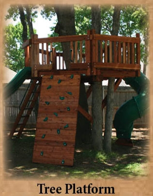 Tree Platform or Tree Deck