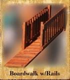 Boardwalk with Rails