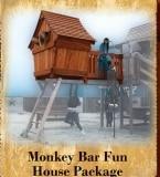 Monkey Bar Fun House Package