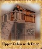 Upper Cabin with Door