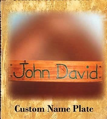 Custom Name Plate