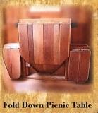 Fold Down Picnic Table