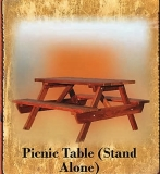 Picnic Table - Stand Alone