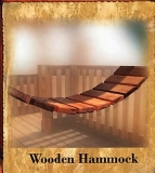 Wooden Hammock - Kids
