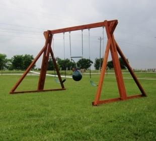Stand Alone Swing Set
