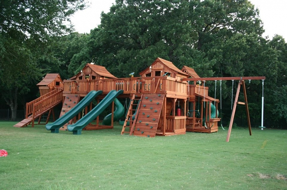 Fort Stockton bridged Upper Cabin swing set