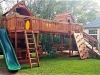 Mustang Bridged Play Set- Corner Porch