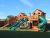 Fort Stockton Play Set bridged to Fort Stockton Swingset