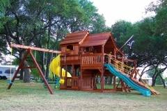 Fun Shack Tri-Level Swing Set