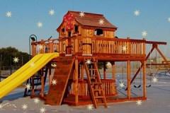 Ticonderoga Swing Set Christmas