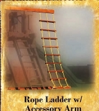 Rope Ladder with Accessory Arm