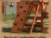 Rock Wall Deck Ladder Combination