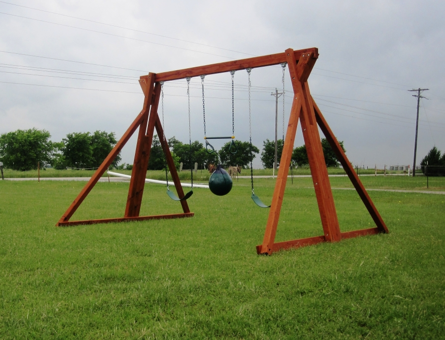 Stand Alone Swing Set - Swing Set Backyard Fun Factory