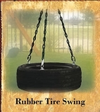 Rubber Tire Swing
