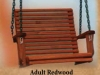 Adult Redwood Swing