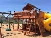 Fort Ticonderoga Swing Set Twister Slide