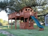 Custom Tree Deck and Fort Stockton Playset