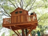 Treehouse wrap around deck
