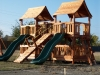 Bridged Fun Shack Swing Sets