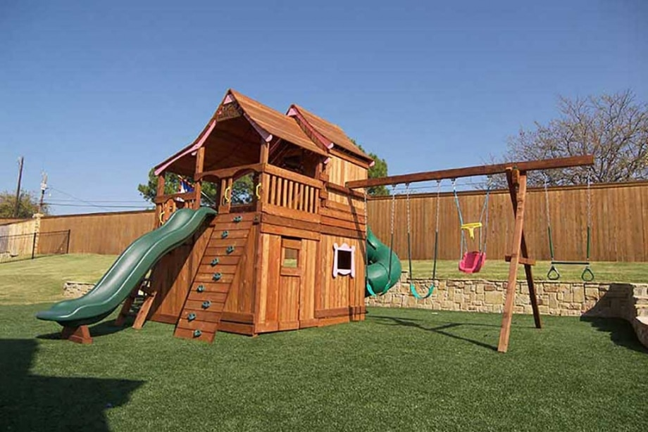 Multi-Level Swing Sets - Multi-Level Swing Sets Backyard Fun Factory