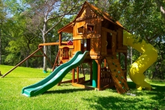 Fun Shack Lookout Shack Half Shack Swing Set