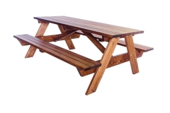 Picnic Table 6' Attached Benches