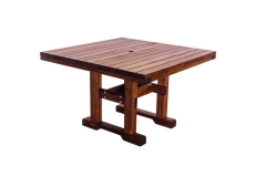 """Square 44"""" Table Dining Height"""