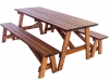 Picnic Table 6' Detached Benches