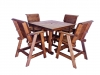 Square Table (Shown with Lowback Bar Chairs)