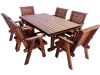 Rectangle Dining Table (Shown with Lowback Chairs)