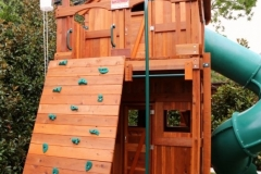 Fort Stockton playset with Upper and Lower Cabins