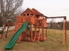 Fort Stockton Tri-Level Playset