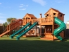 Fort Stocktons Bridged Playset