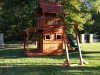 Maverick swing set with monkey bars lower cabin