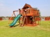 Maverick swing set with wrap around porch