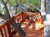Tree Deck on Tree House fort