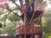 Tree Decks bridged to Fort Stockton playset