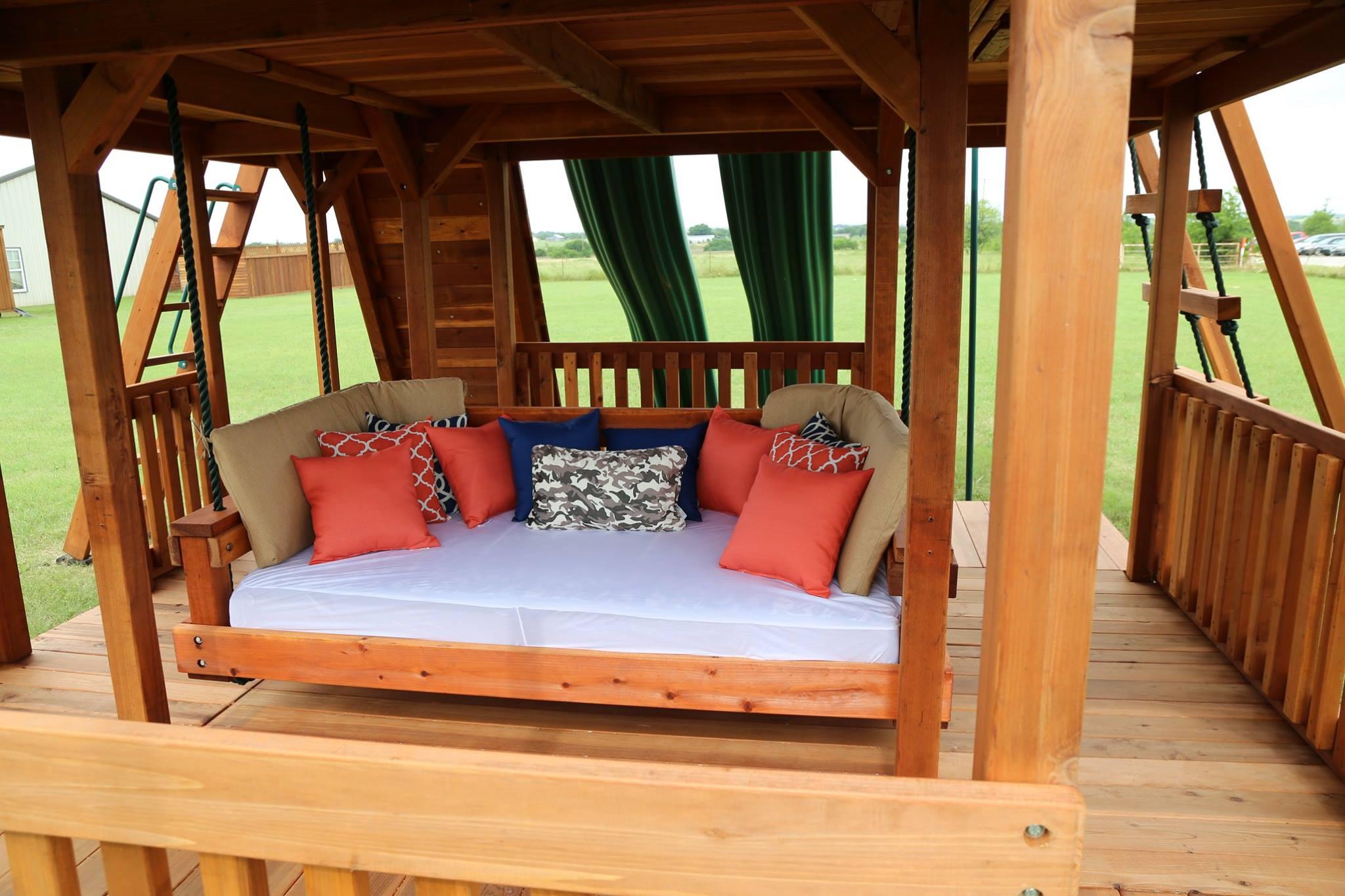 Outdoor Day Bed Swing Backyard Fun Factory