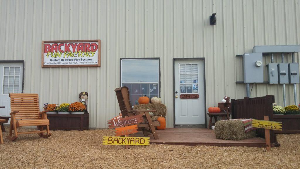 - Justin Texas Factory And Store Backyard Fun Factory