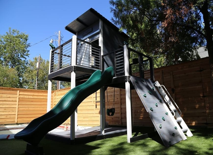 Wooden Swing Sets High Quality Usa Made Backyard Fun Factory